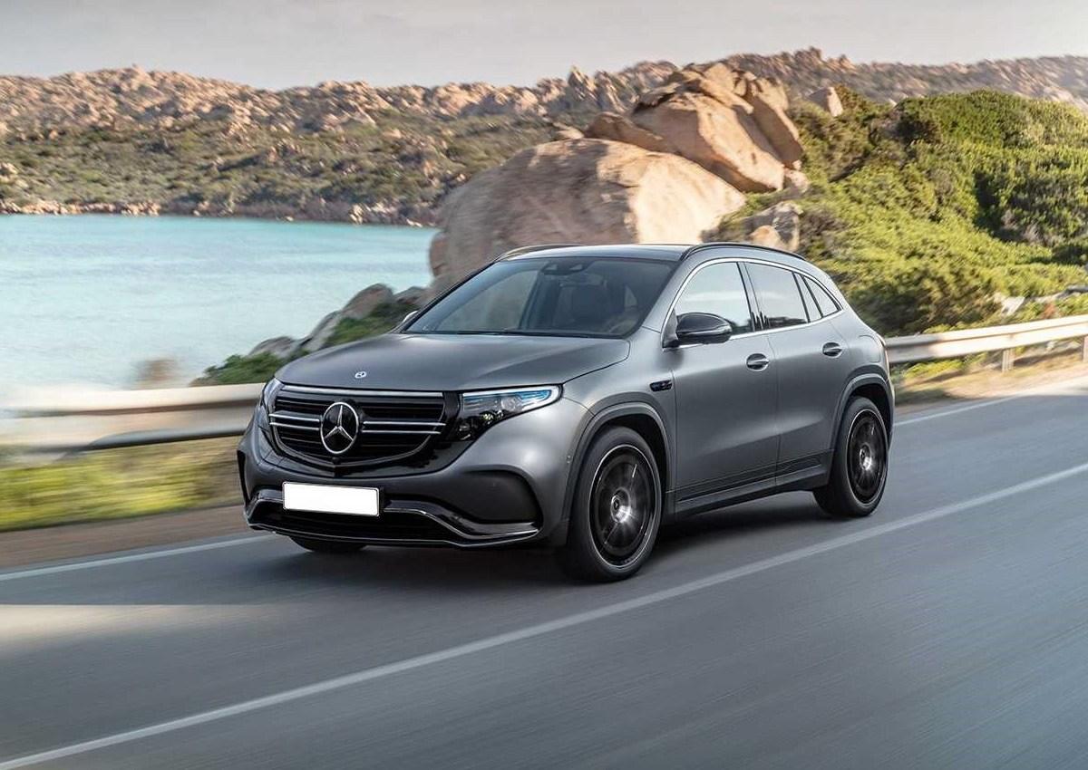 El nuevo Mercedes EQA muestra su futuro aspecto en estos renders