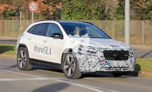 El nuevo Mercedes GLA 2020 pierde buena parte de su camuflaje