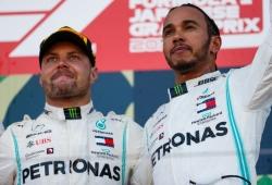 Bottas aprendió los 'trucos' de Hamilton al trabajar con su ex-ingeniero