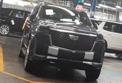 ¡Cazado! El nuevo Cadillac Escalade 2021 cazado sin una pizca de camuflaje