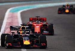 La FIA explica la causa del 'apagón' del DRS en Yas Marina