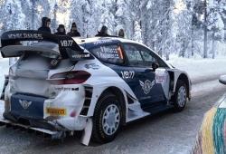 Valtteri Bottas repite en el Artic Rally, aunque con un Citroën DS3 WRC