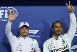 """Wolff explica por qué el """"enfermo"""" Bottas disputó la pole en Yas Marina"""