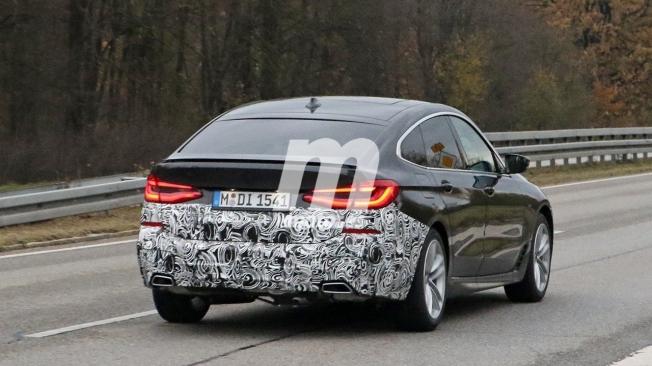 BMW Serie 6 GT 2020 - foto espía posterior