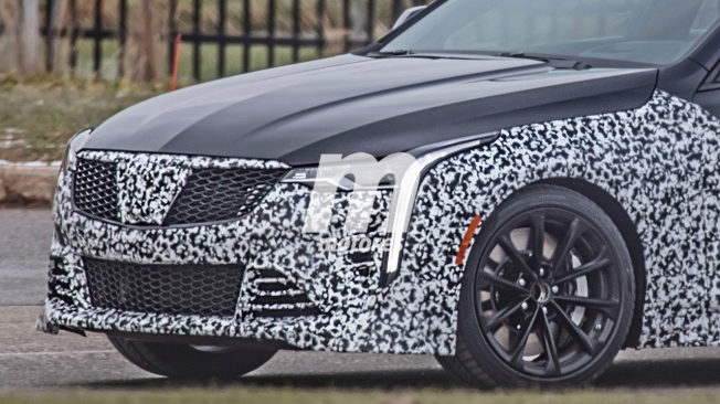 Cadillac CT4-V 2020 - foto espía