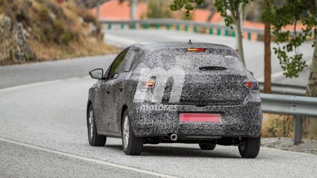 Dacia Sandero 2020 - foto espía posterior