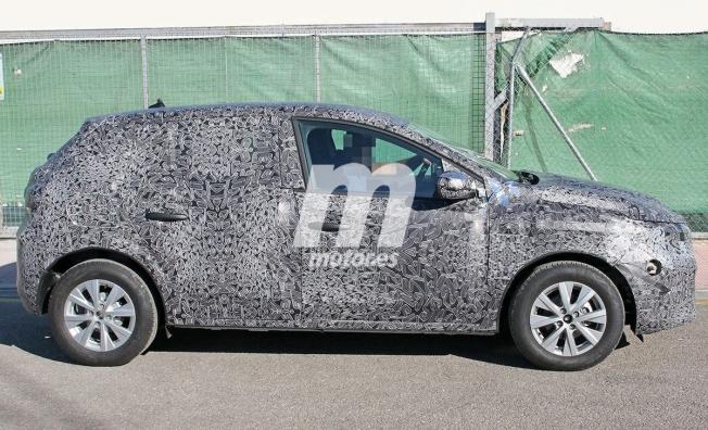 Dacia Sandero 2020 - foto espía lateral