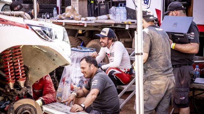 Dakar 2020: Alonso asegura tras su test