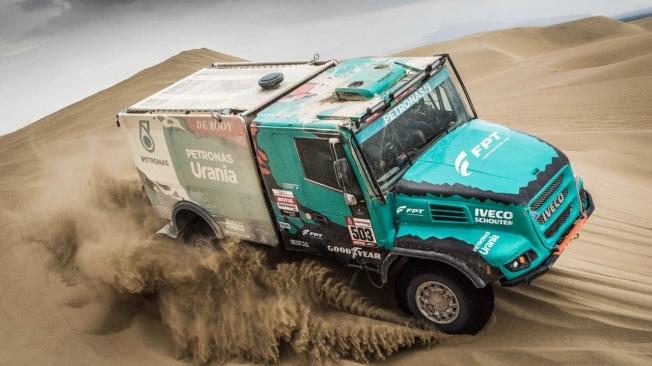 Dakar 2020: Goodyear será juez y parte en el duelo entre Iveco y Kamaz