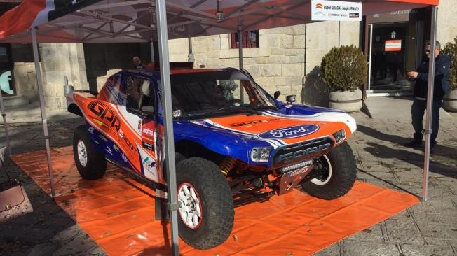 Dakar 2020: Rubén Gracia presenta su Extreme GPR20 en Guadarrama