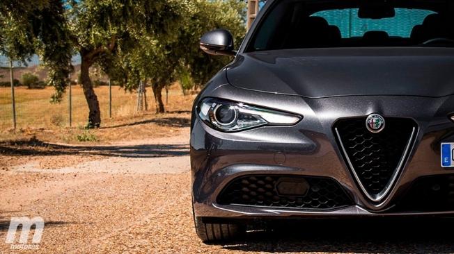 Alfa Romeo Giulia - frontal