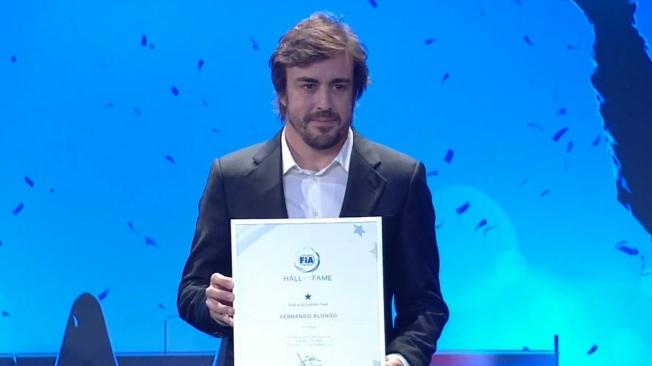 Fernando Alonso repite en el 'Hall of Fame' de la FIA por ganar el WEC