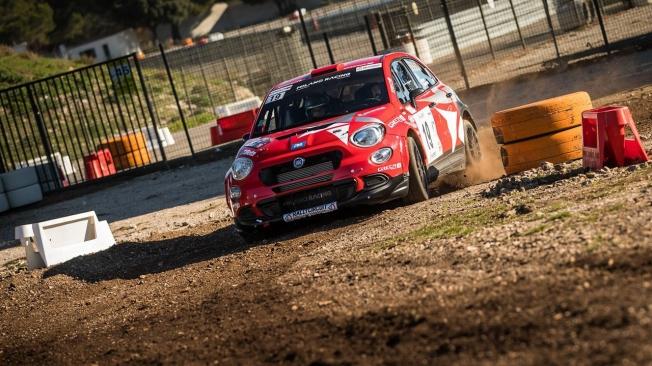 El Fiat 500X MR R4 de Raphaël Astier también estará en el Montecarlo