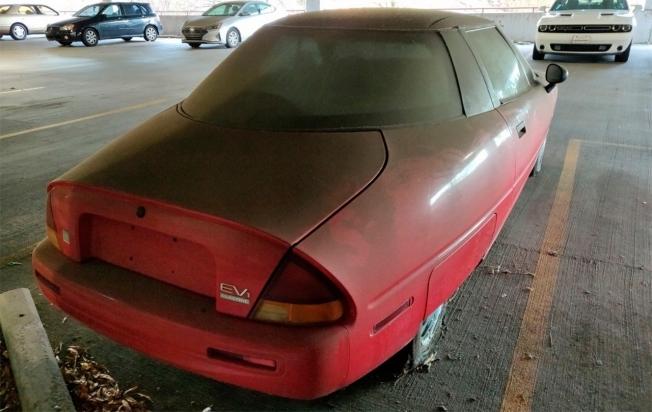 GM EV1 - posterior