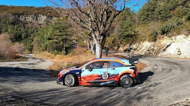 Hyundai Motorsport arranca los test del Rally de Montecarlo 2020