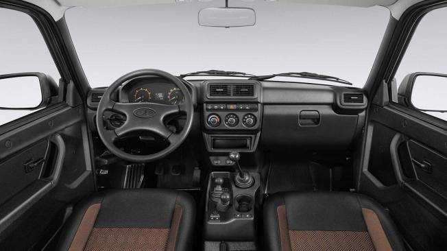 Lada 4x4 2020 - interior