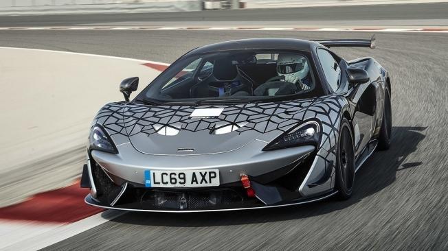 McLaren 620R - frontal