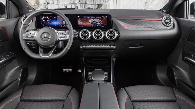 Mercedes GLA 2020 - interior