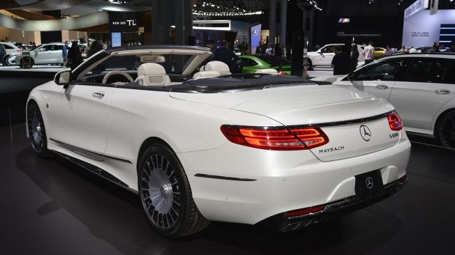 Mercedes en el Salón del Automóvil de Nueva York
