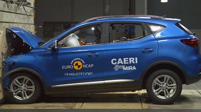 MG ZS EV en las pruebas Euro NCAP