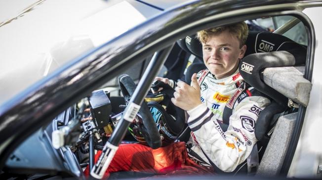 Oliver Solberg está en el radar del renovado programa de Skoda Motorsport