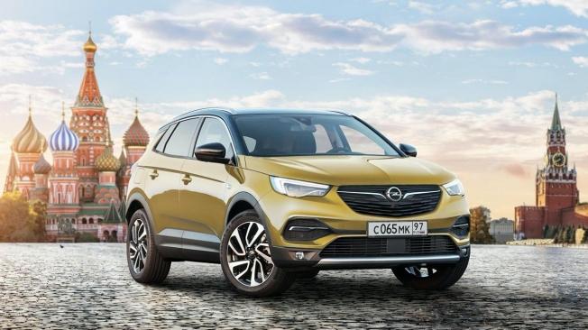 Opel Grandland X en Rusia