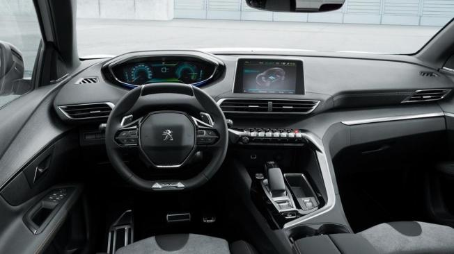 Peugeot 3008 Hybrid - interior