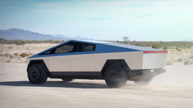 Tesla Cybertruck - posterior