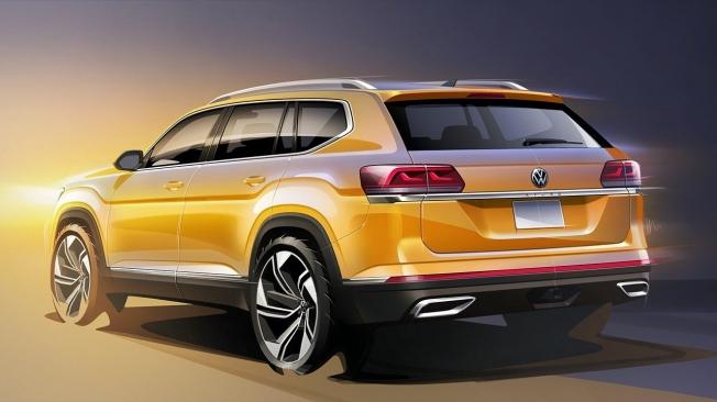 Volkswagen Atlas 2020 - posterior
