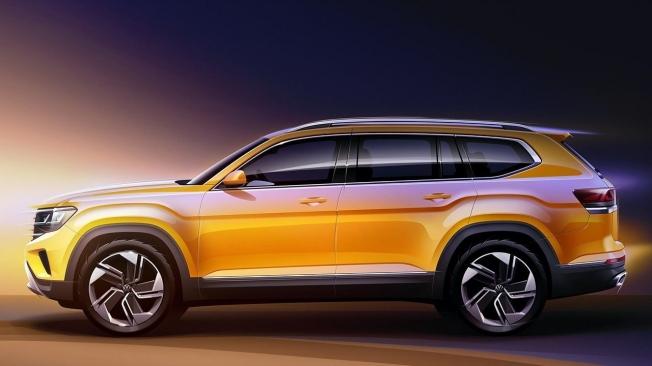 Volkswagen Atlas 2020 - lateral