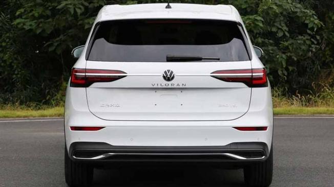 Volkswagen Viloran - foto espía posterior