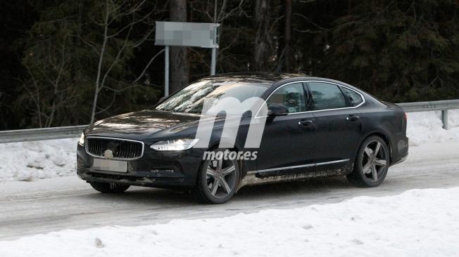 Volvo S90 2021 - foto espía