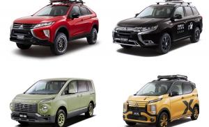 Mitsubishi desvela los prototipos que ha preparado para el Tokyo Auto Salon 2020