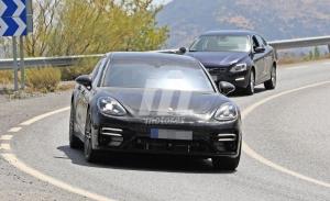 El Porsche Panamera Sport Turismo Facelift muestra el diseño del modelo 2020