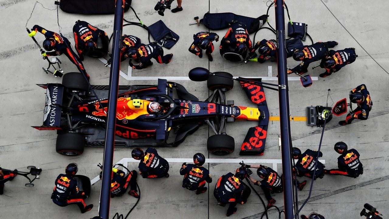 Red Bull ha arrasado en boxes este año, McLaren cuarto mejor equipo