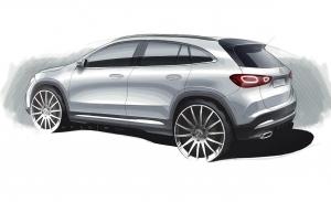 Este Sketch del Mercedes GLA 2020 nos adelanta su aspecto definitivo