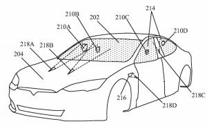 Tesla patenta un láser para limpiar las cámaras de sus coches