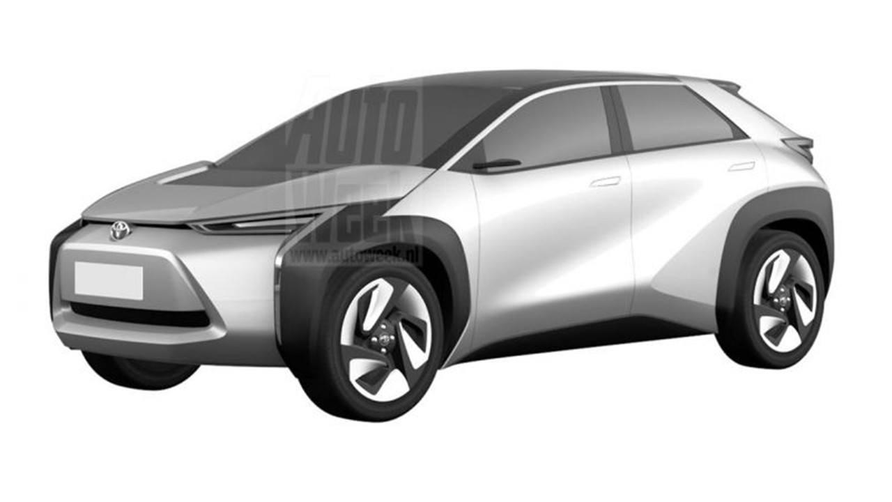 Toyota patenta en Japón una auténtica familia de coches eléctricos