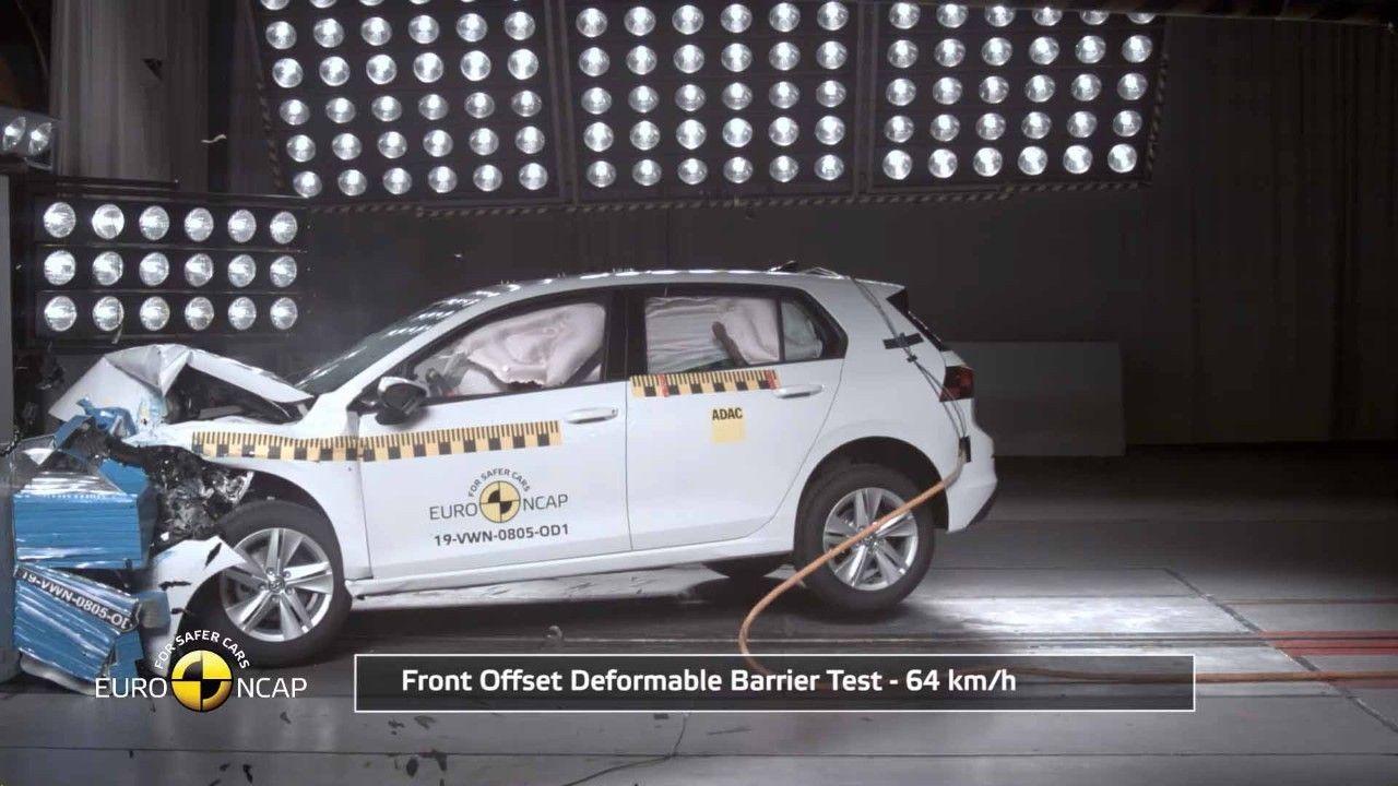 El Volkswagen Golf 2020 protagoniza la nueva ronda Euro NCAP con 5 estrellas