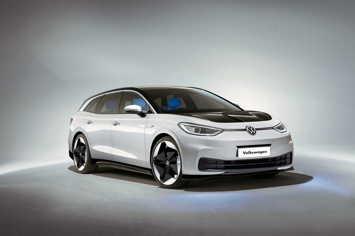 Unas recreaciones adelantan el aspecto deportivo del futuro Volkswagen ID.5 2022