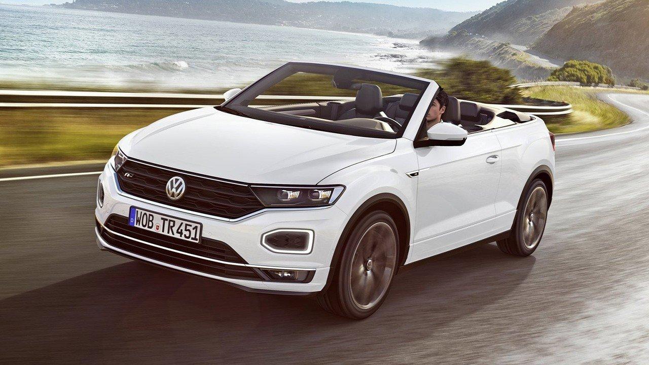 El Volkswagen T-Roc Cabrio, un SUV descapotable, ya está siendo producido