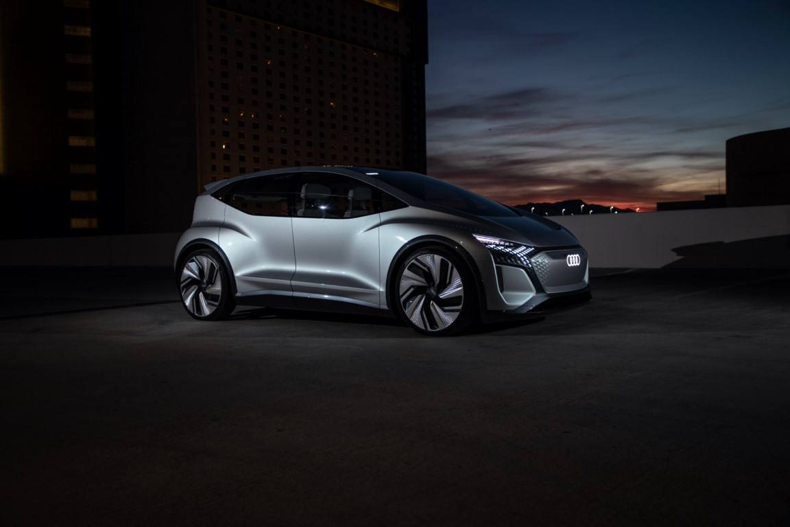 Audi AI:ME, debuta el nuevo concepto eléctrico de la plataforma MEB en el CES 2020