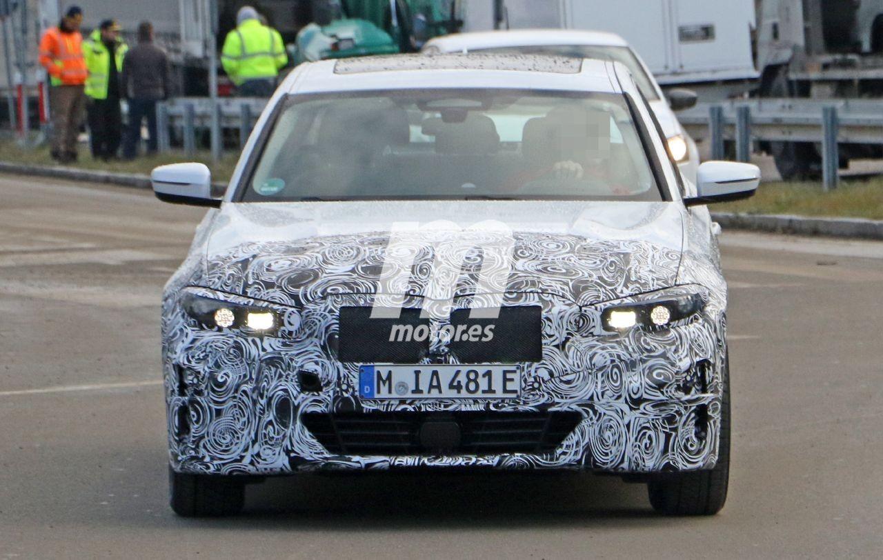 ¡Primeras fotos espía del futuro BMW i3! El Serie 3 eléctrico llegará en 2022