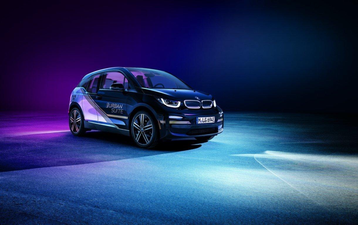 El BMW i3 Urban Suite Concept muestra un nuevo nivel de comodidad a bordo en el CES 2020