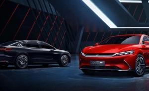 BYD Han, la marca china presenta su nueva berlina eléctrica e híbrida que llega en 2020