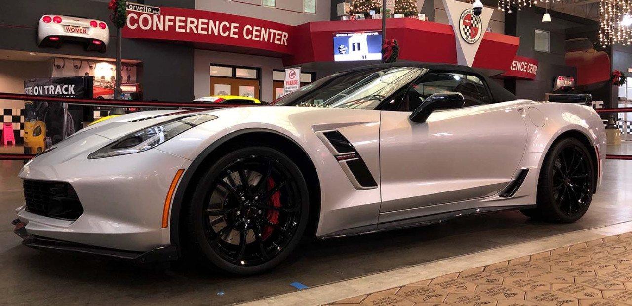 Se sortea el último Chevrolet Corvette Grand Sport Convertible fabricado