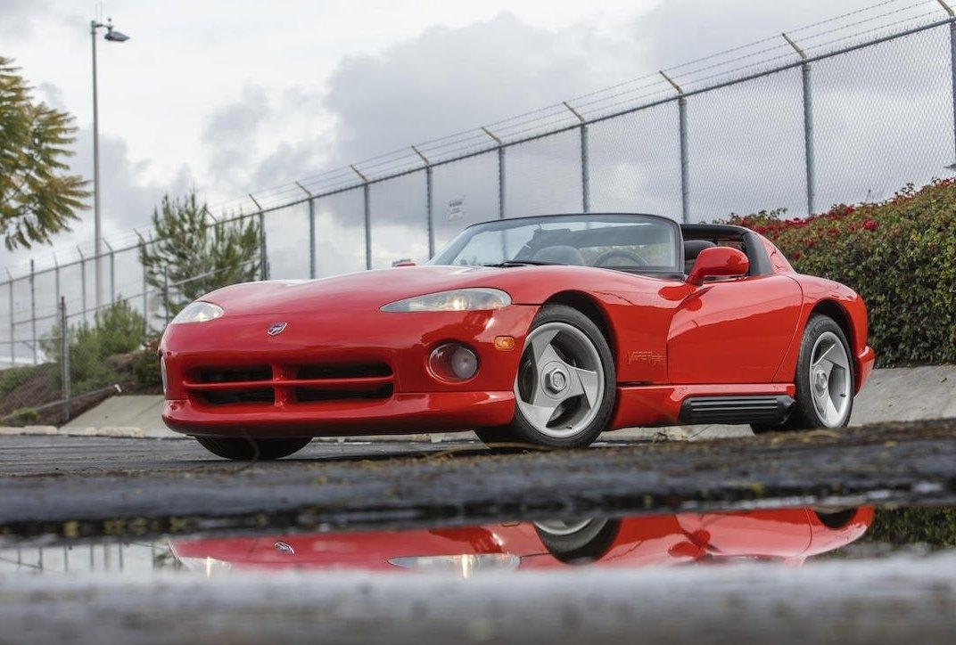 Aparece a la venta el primer Dodge Viper fabricado, perteneciente a Lee Iacocca