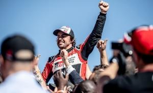 Fernando Alonso, aprobado con nota en el Dakar antes de mirar a Indianápolis
