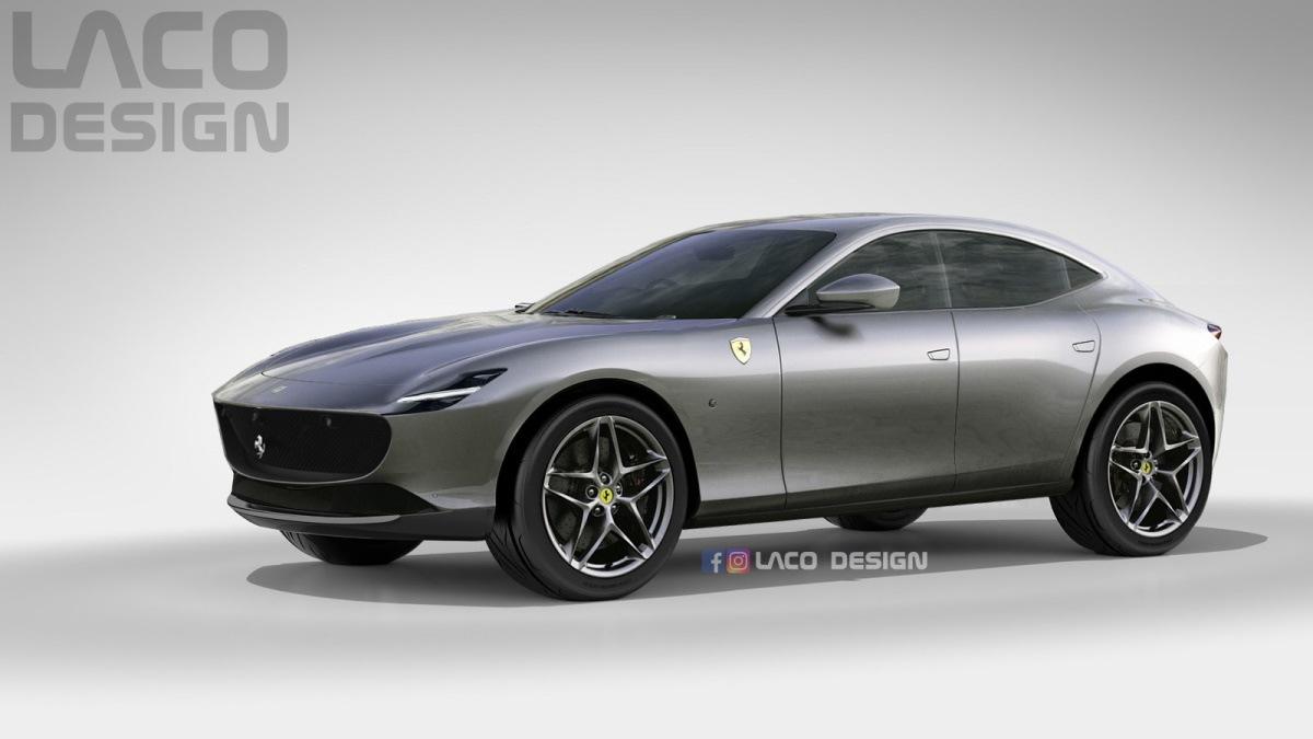 ¿Y si el Ferrari Purosangue adopta el nuevo lenguaje de diseño del Roma?