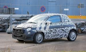 ¡Sorpresa! Aparece el prototipo del nuevo Fiat 500 Eléctrico con detalles importantes